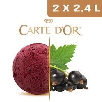 Carte d'Or Sorbets plein fruit Cassis - 2,4 L