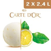 Carte d'Or Sorbets plein fruit Citron Jaune - 2,4 L