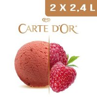 Carte d'Or Sorbets plein fruit Framboise - 2,4 L