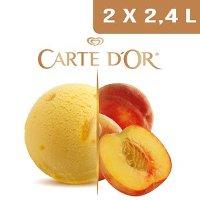 Carte d'Or Sorbets plein fruit Pêche de Méditérranée - 2,4 L