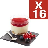 Cheesecake fruits rouges glacé x16