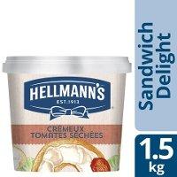 Hellmann's Sandwich Delight Crémeux aux Tomates Séchées 1.5kg