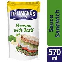 Hellmann's Sauce Sandwich et Burger Pecorino & Basilic 570 ml