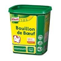 Knorr 1-2-3 Bouillon de Boeuf déshydraté 1kg jusqu'à 66,7L
