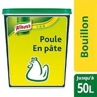 Knorr 123 Bouillon de poule en pâte 1kg jusqu'à 50L