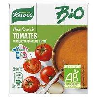 Knorr Bio Mouliné de tomates oignons et pointe d'herbes 30cl