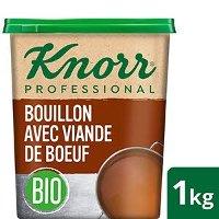 Knorr Bouillon BIO avec viande de boeuf 1kg