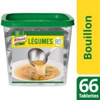 Knorr Bouillon de légumes 66 tablettes de 10g