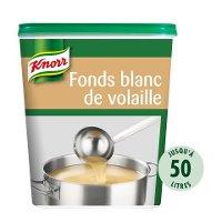 Knorr Fonds Blanc de Volaille Déshydraté Boîte 750g jusqu'à 50L