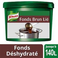 Knorr Fonds Brun Lié Déshydraté Seau 3,5kg jusquà 140L