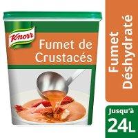 Knorr Fumet de Crustacés Déshydraté Boîte de 600g jusqu'à 24L