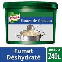 Knorr Fumet de Poisson Déshydraté Seau 3,6kg jusqu'à 240L