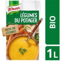 Knorr Soupe Liquide Bio - Velouté de Légumes du Potager