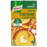 Knorr Soupe Liquide - Douceur d'Automne à la crème fraîche  1L