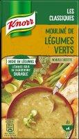 Knorr Soupe Liquide - Mouliné de légumes verts  1l