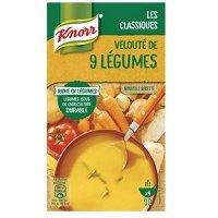 Knorr Soupe Liquide - Vélouté  de Légumes 9 légumes  1L