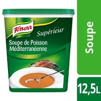 Knorr Supérieur Soupe de Poisson Méditerranéenne 1kg 50 portions