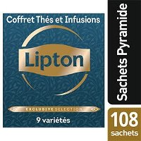 Lipton Exclusive Selection Coffret Thés et Infusions 108 sachets