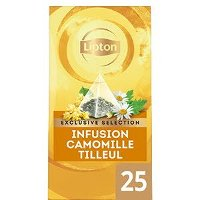 Lipton Exclusive Selection Infusion Camomille Tilleul 25 sachets pyramides