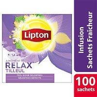 Lipton Feel Good Selection Infusion Tilleul 100 sachets fraîcheur