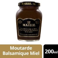 Maille Moutarde Balsamique Miel - 12 x 200 ml