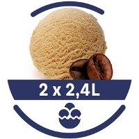 Mon Petit Glacier Bac Café Arabica du Brésil - 2 x 2,4 L
