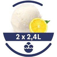 Mon Petit Glacier Bac Citron Jaune de Sicile - 2 x 2,4 L