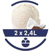 Mon Petit Glacier Bac Noix de Coco - 2 x 2,4 L