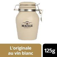 NOUVEAU - Maille L'originale au vin blanc - Pot Grès - 6 x 125g