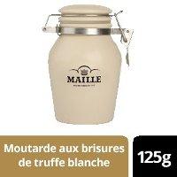 NOUVEAU - Maille Moutarde à la Truffe Blanche d'Alba - Pot Grès - 6 x 125g