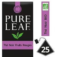 Pure Leaf BIO Thé Noir aux Fruits Rouges 25 sachets pyramides