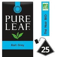 Pure Leaf BIO Thé Noir Earl Grey 25 sachets pyramides