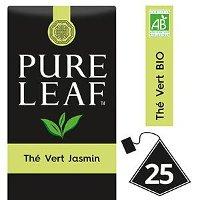 Pure Leaf BIO Thé Vert au Jasmin 25 sachets pyramides
