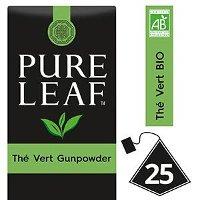 Pure Leaf BIO Thé Vert Gunpowder 25 sachets pyramides