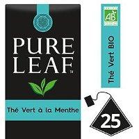 Pure Leaf BIO Thé Vert Menthe 25 sachets pyramides