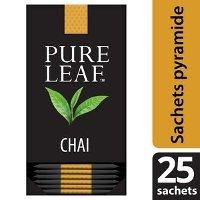 Pure Leaf Thé Noir Chai  25 sachets pyramides