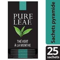 Pure Leaf Thé Vert Menthe 25 sachets pyramides