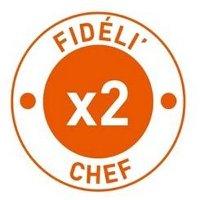 Vos points Fidéli'Chef doublés !
