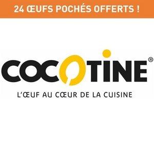 24 oeufs pochés Cocotine offerts ! -