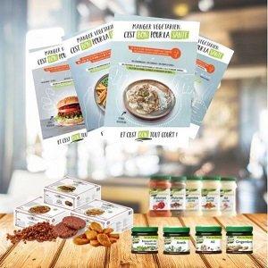 4 affiches sur les bienfaits du végétarisme -