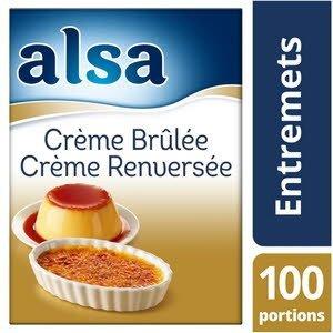 Alsa Crème Brûlée/Crème Renversée 1,35kg 100 portions