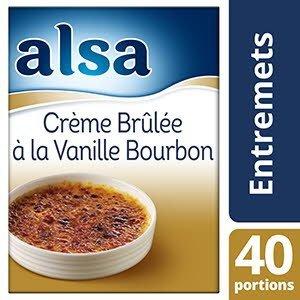 Alsa Crème Brûlée Vanille Bourbon 540g 40 portions