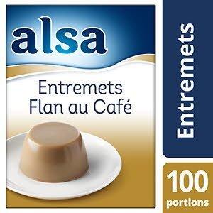 Alsa Entremets-Flan au Café 1,1kg 100 portions -