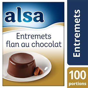 Alsa Entremets-Flan au Chocolat 1,1kg 100 portions