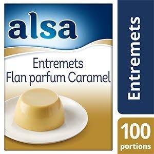 Alsa Entremets-Flan Caramel 1,05kg 100 portions
