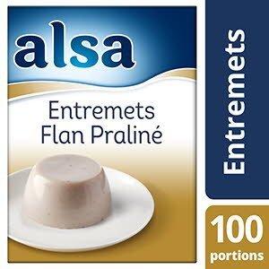 Alsa Entremets-Flan Praliné 1kg 100 portions