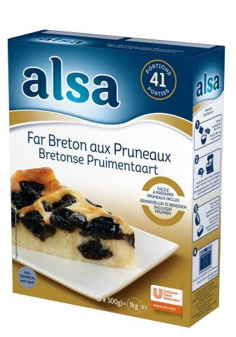 Alsa Far Breton aux pruneaux 760g 41 portions