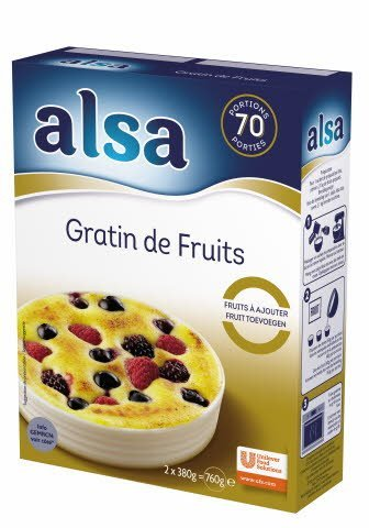 Alsa Gratin de Fruits 760g 70 portions