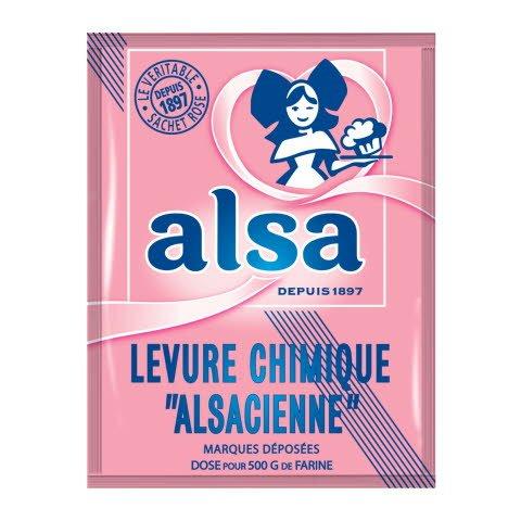 Alsa Levure chimique Alsacienne 8 sachets 11g