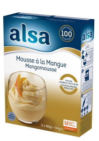 Alsa Mousse à la Mangue 760g 100 portions